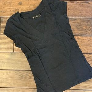 The Limited Deep V-Neck Tee